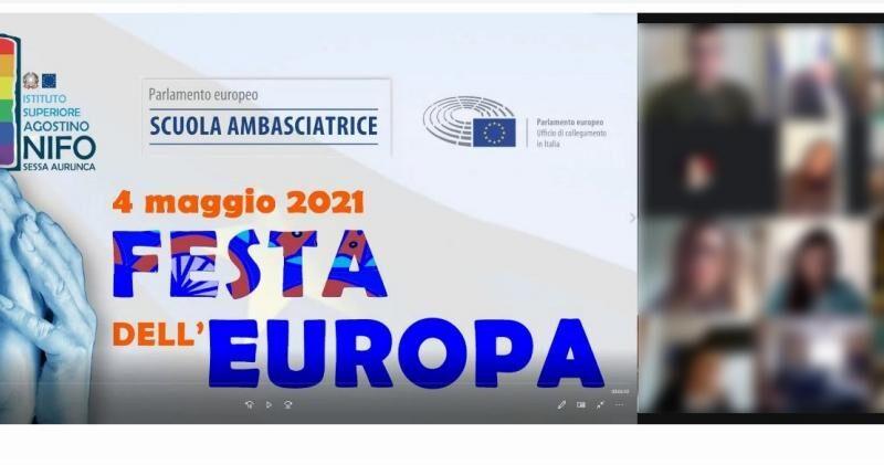 SESSA AURUNCA – Istituto Nifo scuola ambasciatrice del Parlamento Europeo